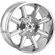 Mayhem Wheels<br/> Arsenal 8104 Chrome