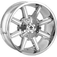 Mayhem Arsenal 8104 Chrome Wheels