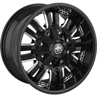 Mayhem Wheels <br/> Assault 8070 Black