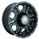 Mayhem Wheels<br /> Havoc 8020 Matte Black/Milled