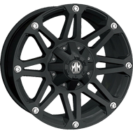 Mayhem Wheels <br/> Riot 8010 Matte Black