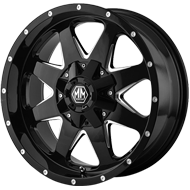 Mayhem Wheels<br /> Tank 8040 Black
