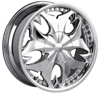 Mazzi Wheels <br/>Fatal 345 Chrome