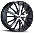 Mazzi Wheels <br /> Essence 364 Gloss Black with Machined Face