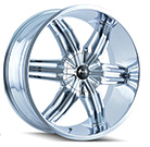 Mazzi Wheels <br /> Rush 792 Chrome