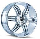 Mazzi Wheels <br /> Rush 792 Chrome