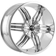 Mazzi Rush 792 Chrome Wheels