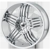 Mazzi Entice 368 Chrome Wheels