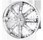 Mazzi Wheels <br/>Eternal 735C Chrome