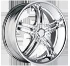 Mazzi Wheels <br/>Invasion 395C Chrome