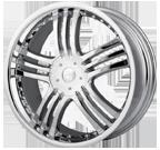 Mazzi Wheels <br/>Klaw 385 Chrome