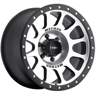 Method Race MR305 NV HD Matte Black Machined Face Wheels