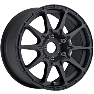 Method Race MR501 VT-SPEC Matte Black Wheels