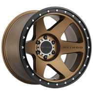 Method Race Wheels<br /> MR610 Con 6 Bronze/Black Street Loc