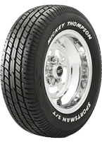Mickey Thompson<br />Sportsman S/T Radial Tires