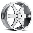 Milanni Wheels 446 Kool Whip 6<br /> Chrome