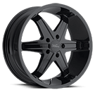 Milanni Wheels 446 Kool Whip 6<br /> Gloss Black