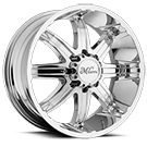 Milanni Wheels 446 Kool Whip 8<br /> Chrome