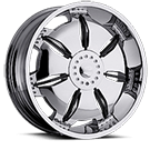 Milanni Wheels 455 Paralyzer<br /> Chrome