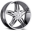 Milanni Wheels 458 Phoenix<br /> Chrome