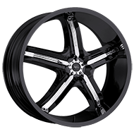 Milanni Wheels 459 Bel-Air 5<br /> Gloss Black