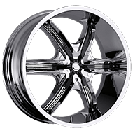 Milanni Wheels 460 Bel-Air 6<br /> Chrome