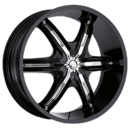 Milanni Wheels 460 Bel-Air 6<br /> Gloss Black