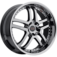 Milanni Wheels 9012 Kapri<br/> Phantom Chrome