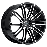 Milanni Wheels 9032 Kahn<br/> Gloss Black Machined Face