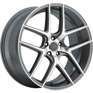 Milanni Wheels 9052 Tycoon<br/> Graphite Mirror Machined Face