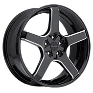 Milanni Wheels 464 VK-1<br/> Gloss Black Milled Spoke
