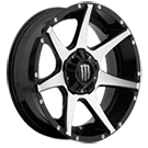 Monster Energy <br /> 647MB Gloss Black with Mirror Machined Face <brr>and Chrome Monster