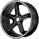 Motegi Racing Wheels<br /> MR122 Satin Black
