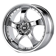 Motegi Racing Wheels<br /> MR244 DV5 Chrome