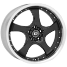 Motegi Racing Wheels<br /> DV5 Gloss Black with Clear Coat