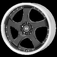 Motegi Racing DV5 Gloss Black with Clear Coat Wheels