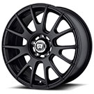 Motegi Racing Wheels<br /> MR118 Matte Black