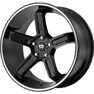 Motegi Racing MR122 Satin Black Wheels