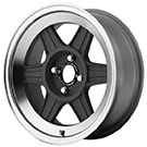 Motegi Racing Wheels<br /> MR124 Mag Grey with Machined Lip