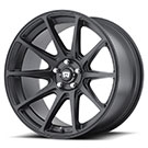 Motegi Racing Wheels<br /> MR127 Satin Black