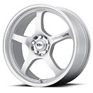 Motegi Racing Wheels<br /> MR131 Traklite Silver