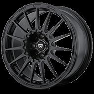 Motegi Racing Rally Cross S Satin Black with Clear Coat Wheels