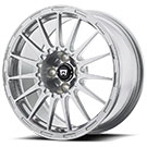 Motegi Racing Wheels<br /> Rally Cross S Silver with Clear Coat