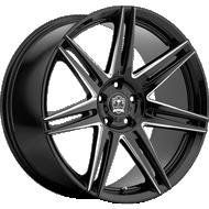 Motiv 414 BM Modena Gloss Black Milled Wheels