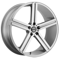 Motiv 418AB Melbourne Anthracite with Brushed Face Wheels