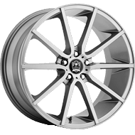 Motiv 419AB Marseille Anthracite with Brushed Face Wheels