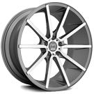 Motiv Wheels <br/>419AB Marseille Anthracite with Brushed Face