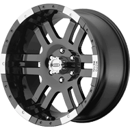 Moto Metal Wheels <br>MO951 Gloss Black & Machined
