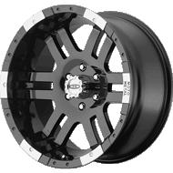 Moto Metal MO951 Gloss Black and Machined Wheels