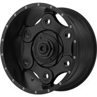 Moto Metal Wheels <br/> MO977 Link Black Out